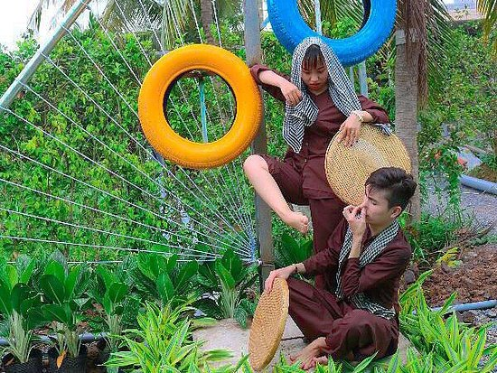 Khu Du Lich Sinh Thai Lang Xanh Ben Tre