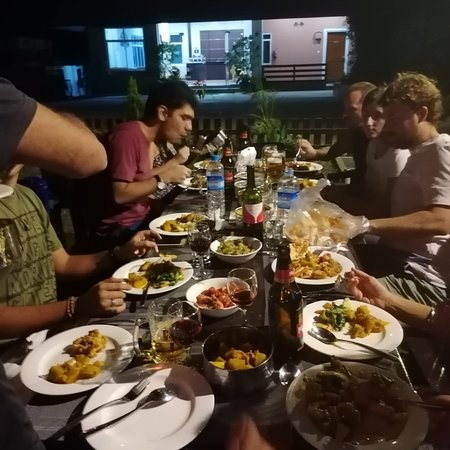 We are happy ,They love our food They are safe in myanmar. During stay