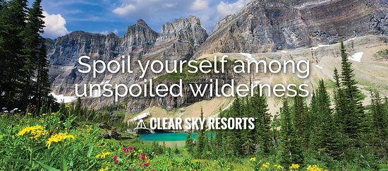 Come spoil yourself among the unspoiled wilderness