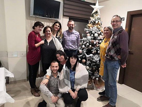 Casasimarro, Ισπανία: Cena de navidad con compañeros