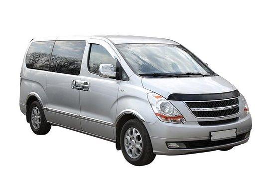 Transfert en minibus privé de Rosario à l'aéroport de Rosario Islas...