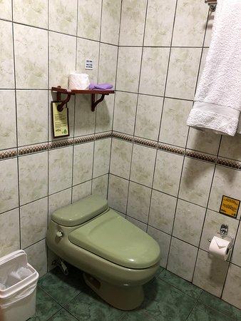 Room 17 bathroom.