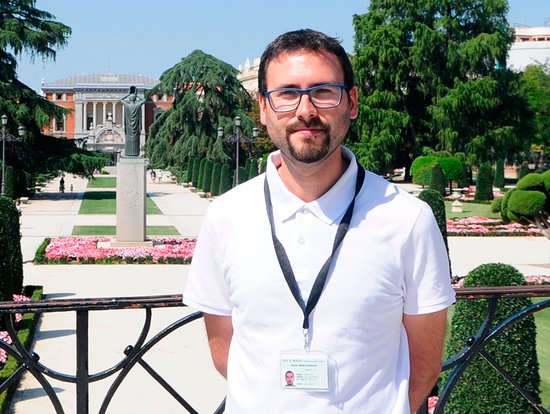 Ricardo Dominguez Guia Turistico de Madrid