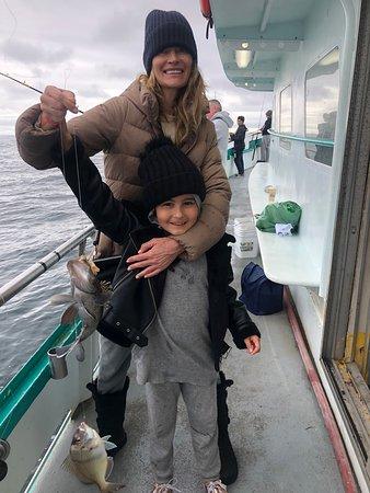 So much fun! Children were so excited to catch their first fish.