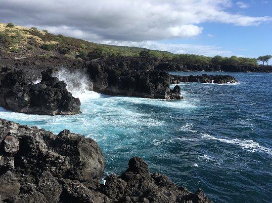 Holualoa, HI: Mamalahoa Kona Heritage Corridor  Lekeleke Burial Ground Île d'Hawaï, Hawaï