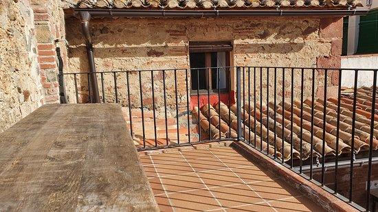 L'Argentera, Tây Ban Nha: Terraza del apartamento La Trilla