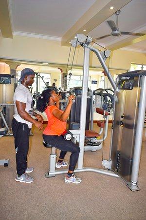 Mbale Resort Hotel: Gym Session
