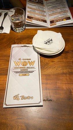 菜單與餐巾紙