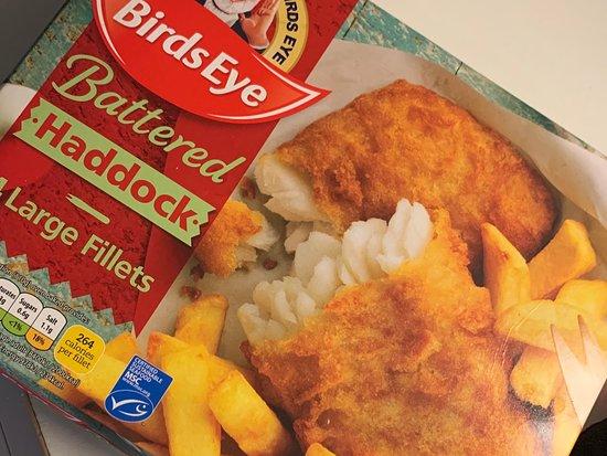 Surrey, UK: Locally sourced fish
