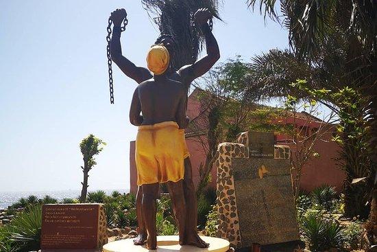 Gorée Island visit of Dakar the...