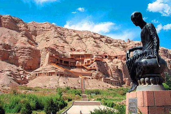Kuqa Private Day Tour to Kizil Grottoes and Mystic Tianshan Grand...