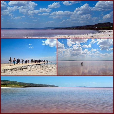 Sereflikochisar, Tyrkia: Озеро Туз