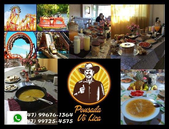 Pousada Vô Lica - um lugar com muito sossego e tranquilidade, próximo ao Parque Beto Carrero e com um deliciosa café da manhã;para a noite reservamos pra você e sua família uma deliciosa sopa.