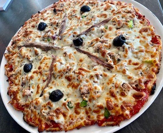 Fourbanne, Frankrijk: Pizza niçoise