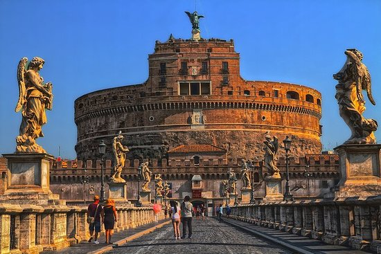 Musée du Vatican, Castel S. Angelo et...