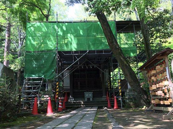 Jindai-ji Temple Jinjado