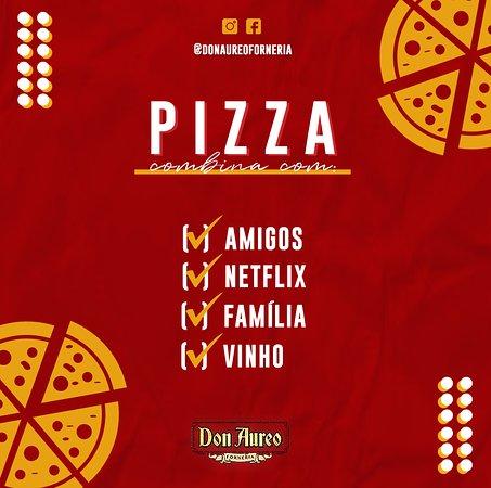 Pizza combina com?😋 Conta pra nós! 🍕 #comenta #compartilha ▫️ Corre garantir a sua! 😉⬇ WhatsApp📲 (45) 9 8827-8825 ☎ (45) 3038-5334 | 3306-2100 ▫ ▫️ ▫️ #donaureo #delivery #pizza #risoto #massas #qualidade #cascavel #ifood