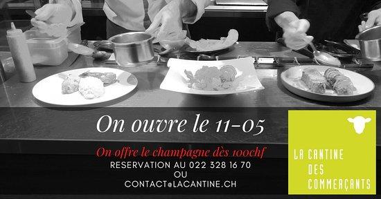 La Cantine Des Commercants Geneva Menu Prices Restaurant