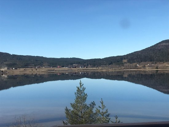 Noresund, Norge: Vakkert på Krøderen