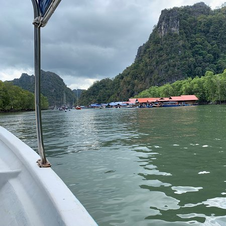 Langkawi District, มาเลเซีย: A speed boat, a mangrove, and 35 degrees of humidity, what can go wrong ?
