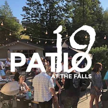 *We are temporarily closed due to COVID-19, but hope to see you on our patio in the near future!*  Patio19 at The Falls Golf Club