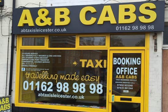 A&B Cabs Leicester Taxi