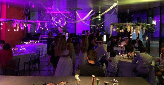 Camorino, Svizzera: festa di compleanno