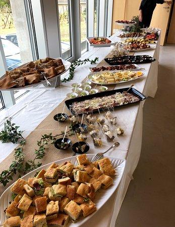 Camorino, Svizzera: Servizio catering