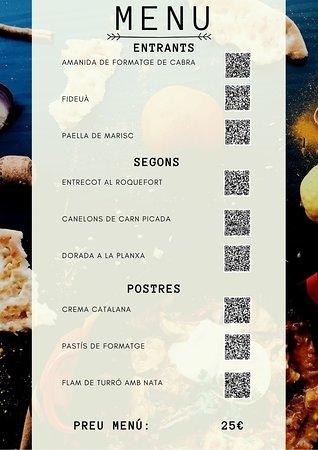 La Rambla, España: Restaurante Bertmar también tiene carta.