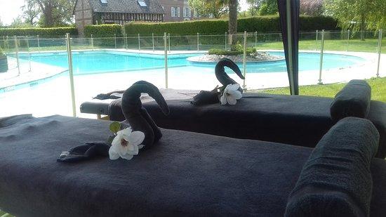 Beuzeville, Franciaország: Massages en duo à l'extérieur? A votre domicile ou sur votre lieu de vacance, c'est possible!