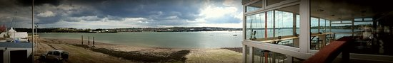 Neyland, UK: A wonderful panoramic shot of the Cleddau