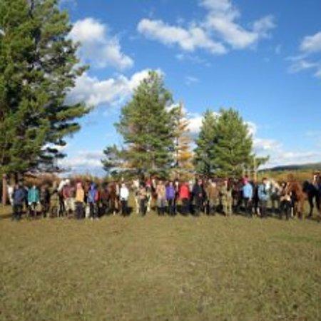 Zabaykalsky Krai, Ryssland: туристические клубы в нашем крае дают уникальную возможность отдохнуть на природе вместе лошадью и в приятной компании) но не забываем. что такой отдых является все же экстремальным)