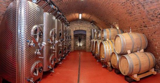 Mikulov, Tjekkiet: Výrobní sklep vinařstí Orisek