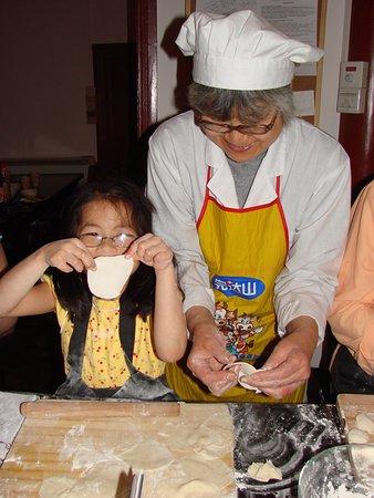 dumpling making