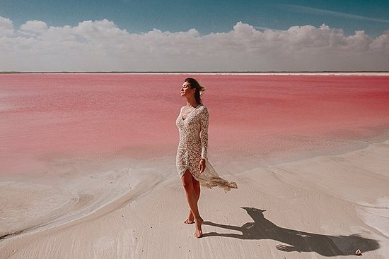TOUR to the Unbelievable Pink Lake of...