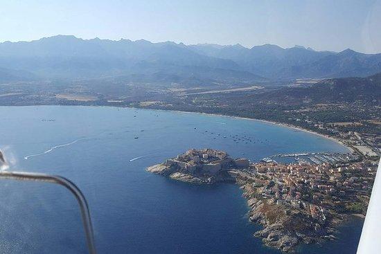 Excursion sur la journée en Corse depuis Cannes dans un avion privé.