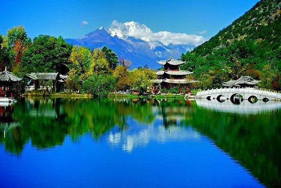 Flexible Highlights der Stadt Lijiang...