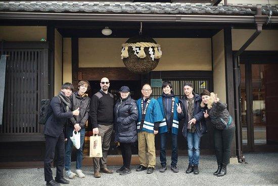 Sake Tasting Experience at Tenryo Sake Brewery in Gifu