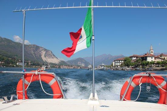 Maggiore-søen, Italien: In barca, in visita alle isole Borromee Bellissima Italia!