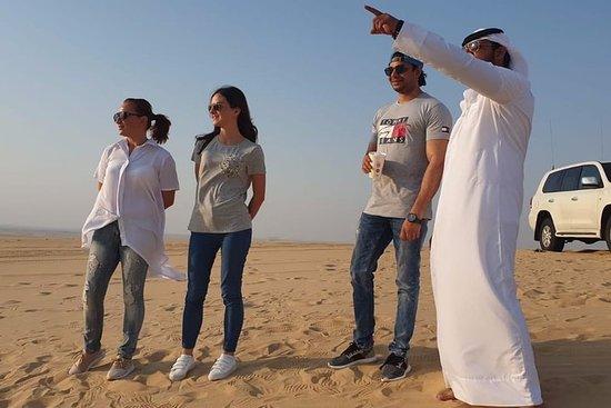 Desert trip beyond dune bashing: from old Qatari town to Saudi border