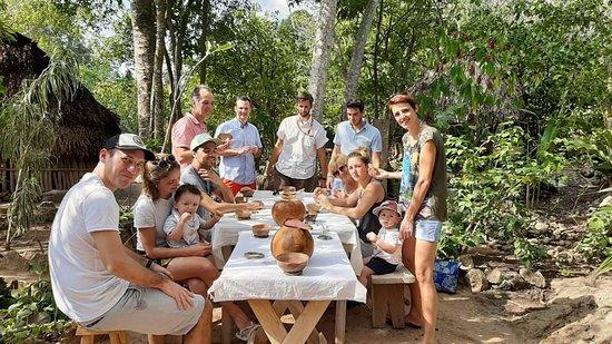 Une bien belle famille qui a fait un circuit de 20 jours avec un guide privé francophone au mois de Janvier 2020 dans la région du Yucatan