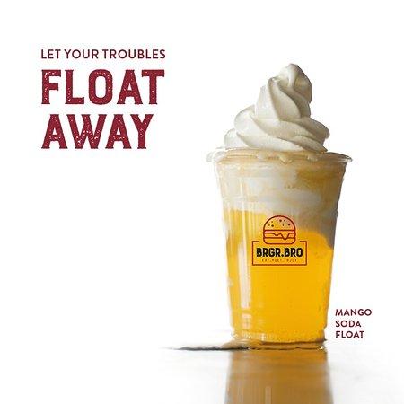 Mango Icecream Soda Float