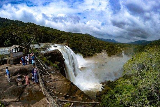 One day trip to Athirapally waterfall and Cherai beach to Kochi.