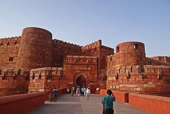 Private Full Day Tour of Taj Mahal ,Agra Fort & Fatehpur Sikri with Tickets Resmi