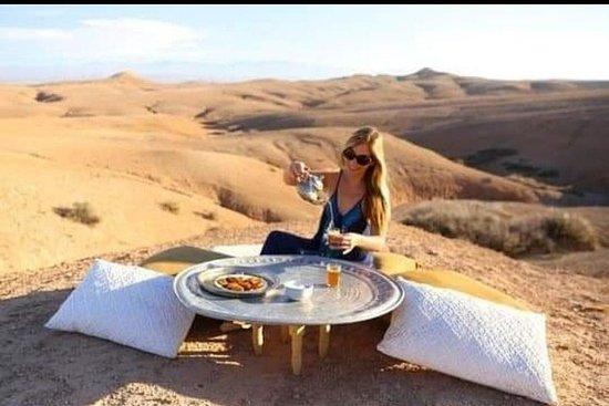 Desert Agafay and Atlas Mountains...