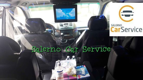 Mercedes Viano minivan   with black leather interior