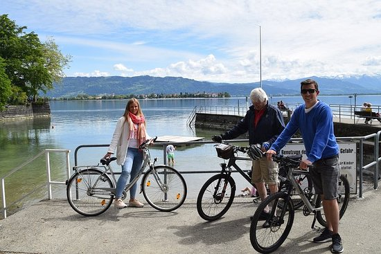 Guided Bike Tour Lake Constance Cycle...