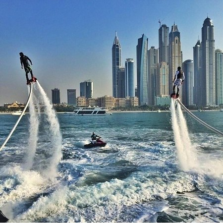Flyboard trip was awesome