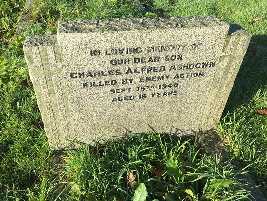 Commonwealth War Grave, Pluckley