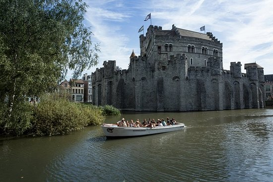 Excursion guidée en bateau à Gand